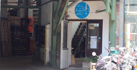 Werkstatt-Tür